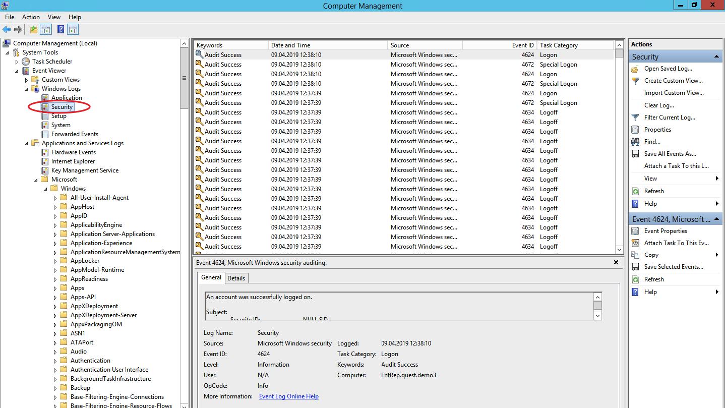Что полезного можно вытащить из логов рабочей станции на базе ОС Windows - 1