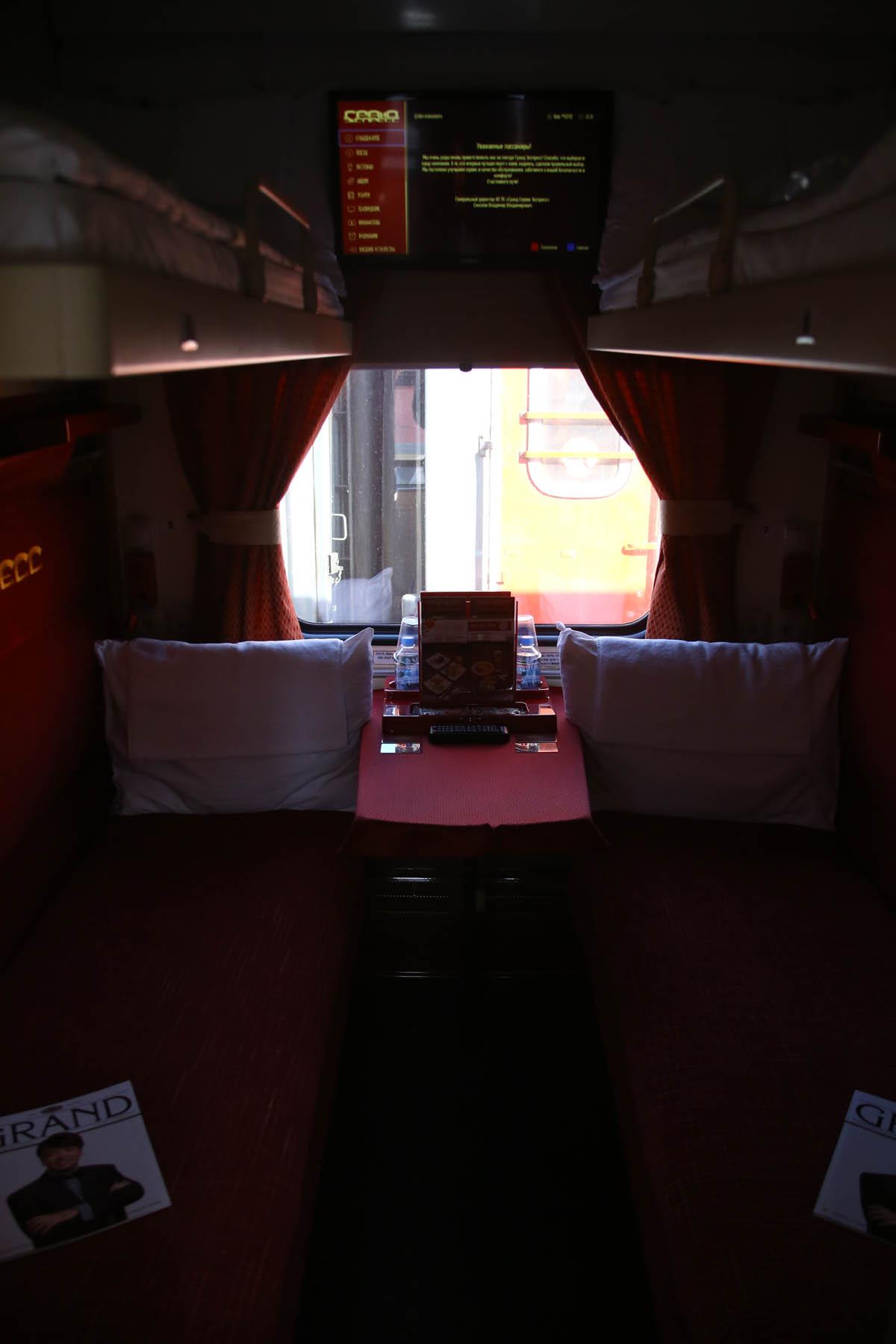 Гранд Экспресс: первый частный поезд в России - 4