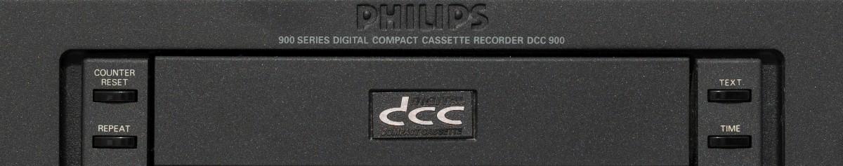 Древности: Philips DCC, кассета-неудачник - 1