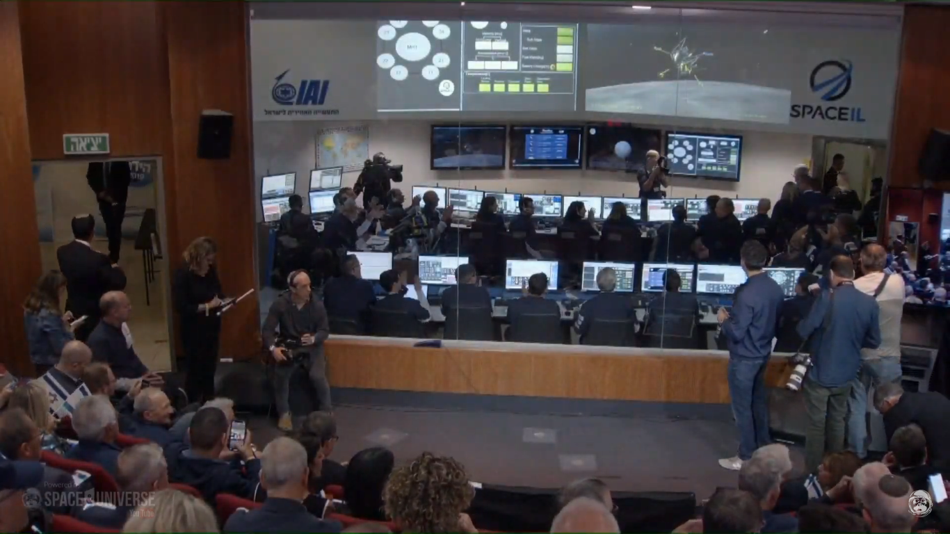 Лунная миссия «Берешит» — есть посадка на Луну (технически) - 111