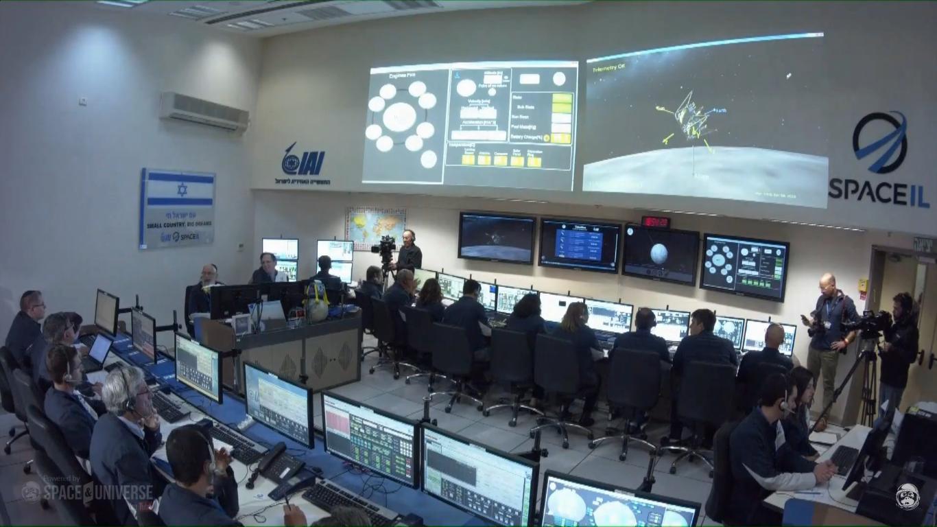 Лунная миссия «Берешит» — есть посадка на Луну (технически) - 112