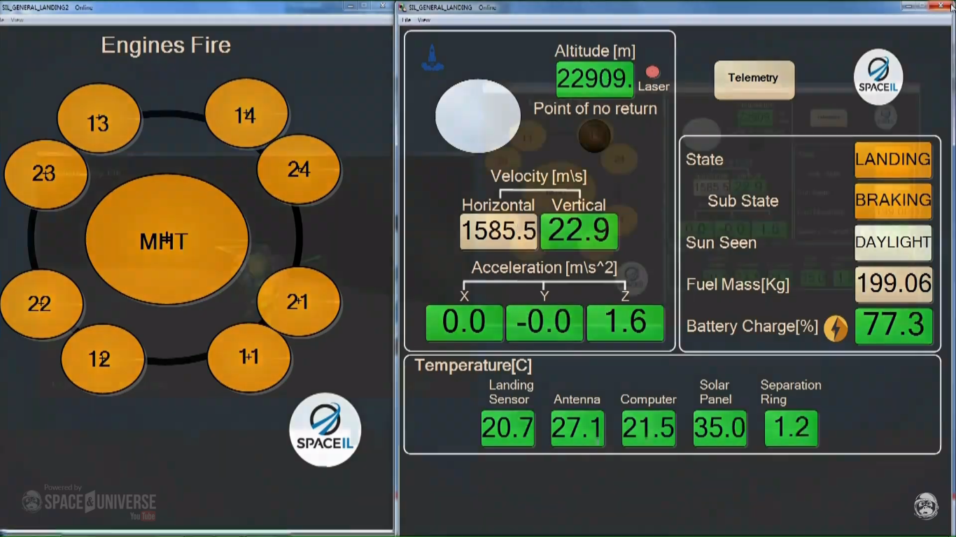 Лунная миссия «Берешит» — есть посадка на Луну (технически) - 119