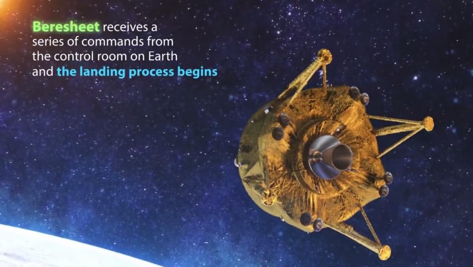Лунная миссия «Берешит» — есть посадка на Луну (технически) - 23