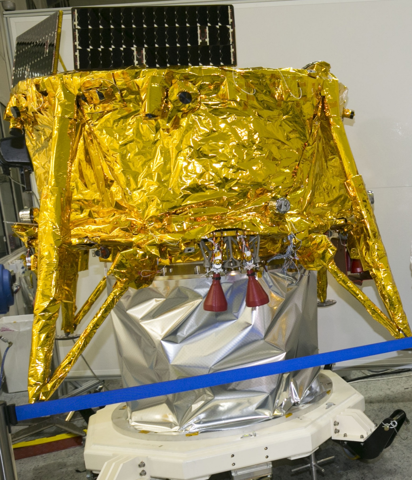 Лунная миссия «Берешит» — есть посадка на Луну (технически) - 48