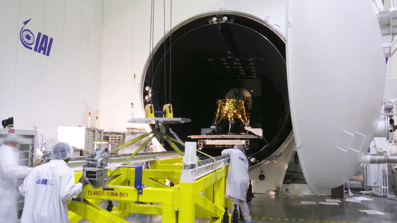 Лунная миссия «Берешит» — есть посадка на Луну (технически) - 53