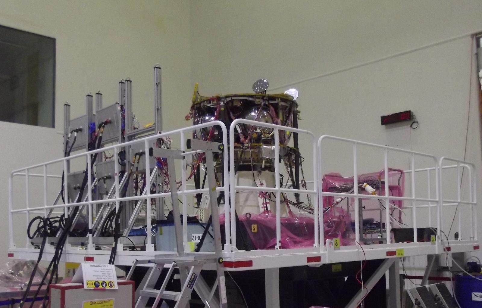 Лунная миссия «Берешит» — есть посадка на Луну (технически) - 54