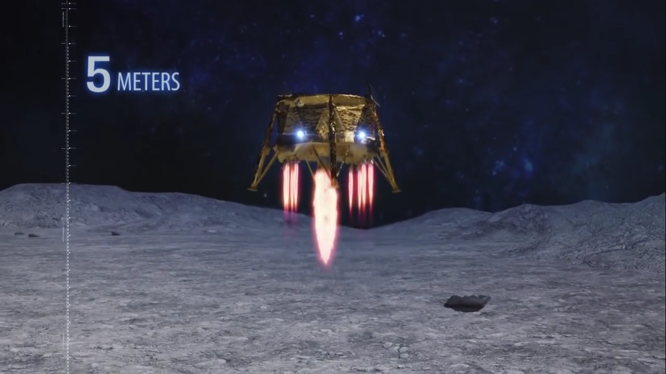 Лунная миссия «Берешит» — есть посадка на Луну (технически) - 89