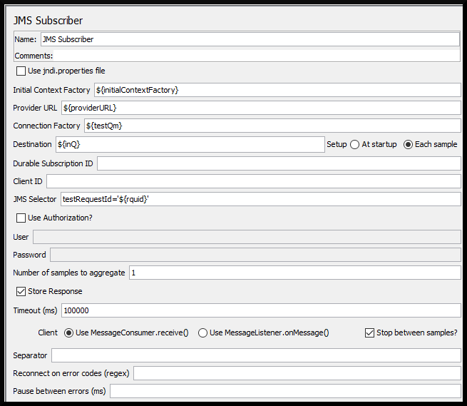 Очереди и JMeter: обмен с Publisher и Subscriber - 5