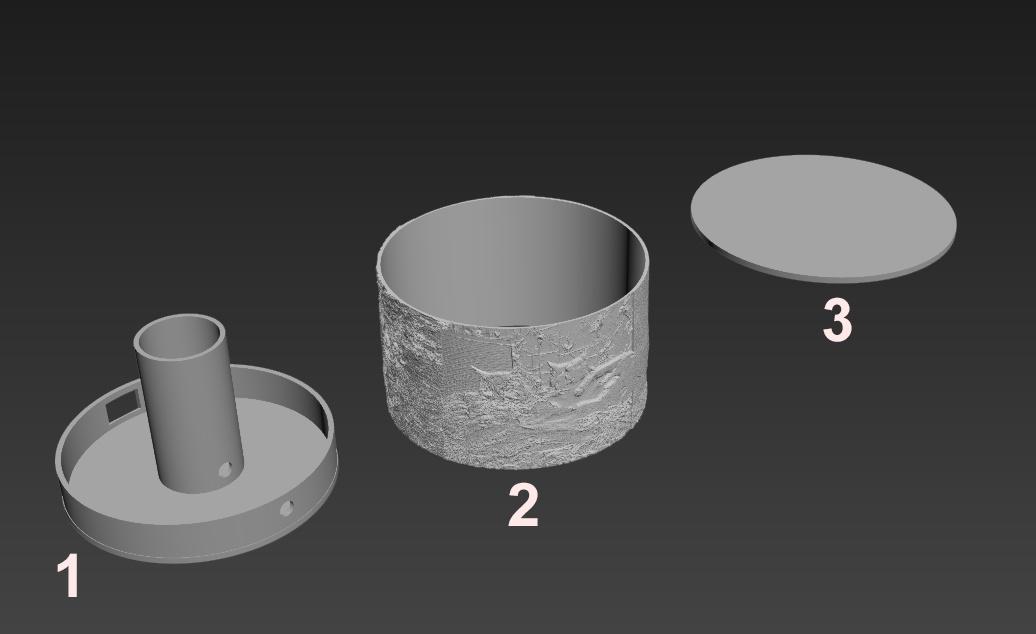 Разработка и сборка фото-светильника - 2