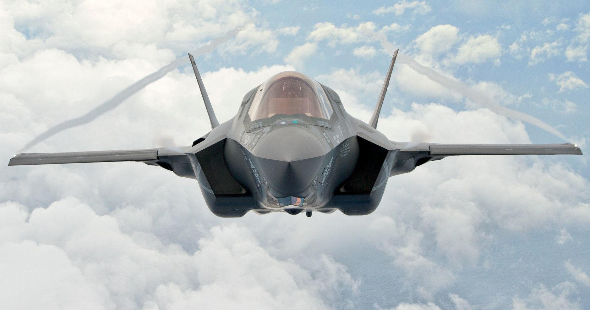 США боятся, что РФ и КНР выловят утонувший F-35