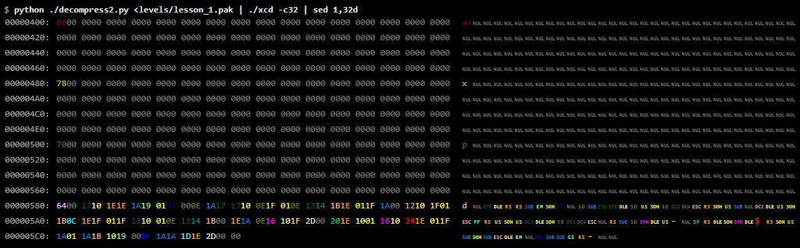 Введение в реверс-инжиниринг: взламываем формат данных игры - 19
