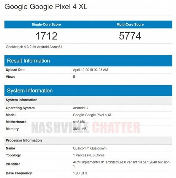 Google Pixel 4 XL сочетает топовую платформу, Android 10 и… всего 4 ГБ оперативной памяти