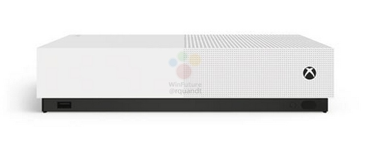 Xbox One S All Digital: Microsoft готовит консоль без привода Blu-ray