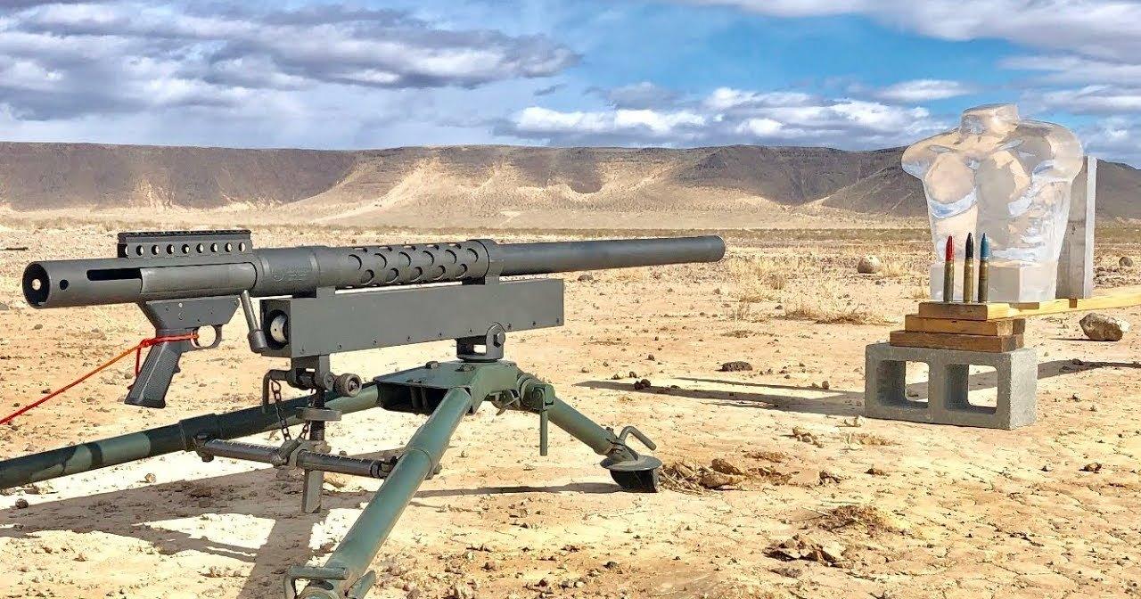Что сделает с телом человека 20-мм калибр: стрельба на поражение