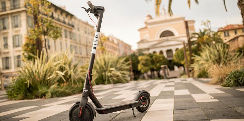 Этим летом сервис проката электрических самокатов Bird придет более чем в 50 европейских городов