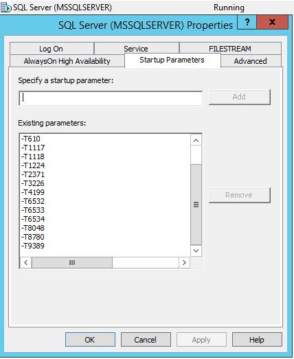 Некоторые аспекты мониторинга MS SQL Server. Рекомендации по настройке флагов трассировки - 3