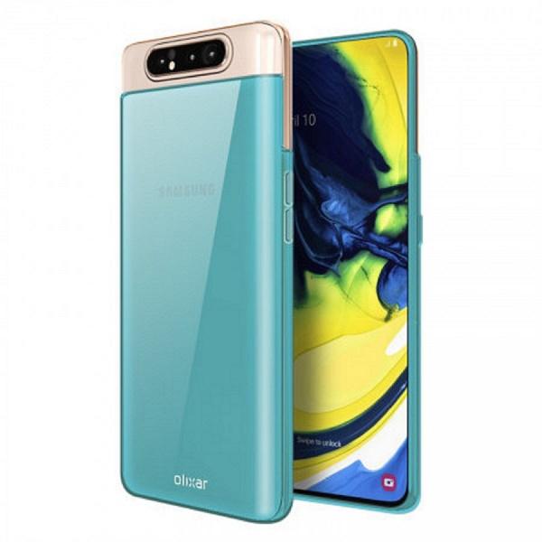 Уникальному смартфону Samsung Galaxy A80 — соответствующий чехол