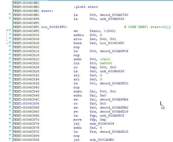 GHIDRA, исполняемые файлы Playstation 1, FLIRT-сигнатуры и PsyQ - 3