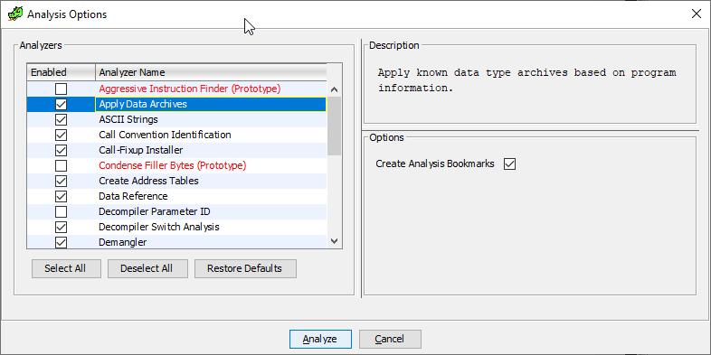 GHIDRA, исполняемые файлы Playstation 1, FLIRT-сигнатуры и PsyQ - 5