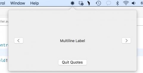 Приложение в строке меню для macOS - 14