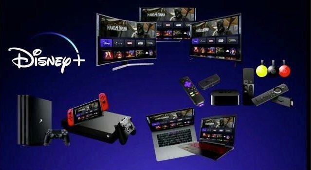 Сервис Disney+ будет работать на PS4, Xbox One, Nintendo Switch, Apple TV и Chromecast