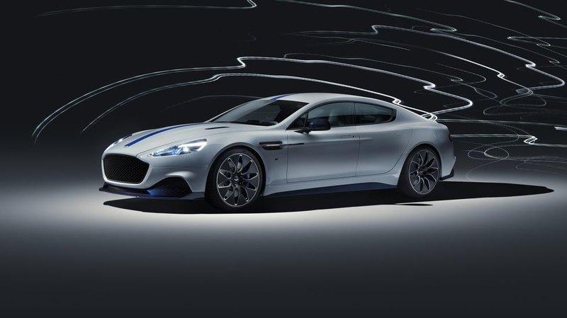 Aston Martin презентовала свой первый электромобиль