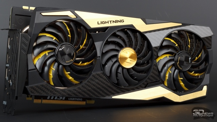 Новая статья: Обзор видеокарты MSI GeForce RTX 2080 Ti LIGHTNING Z: молния бьет дважды