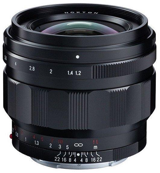 Названа европейская цена объектива Voigtlander Nokton 50mm f 1.2 Aspherical с креплением Sony E - 1