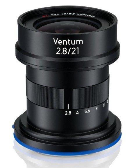 Объектив Zeiss Ventum 21mm f/2.8 будет предназначен для камер, устанавливаемых на дронах