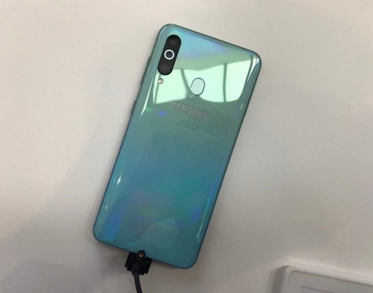 Последний из основной линейки: смартфон Samsung Galaxy A60 засветился на качественных фотографиях