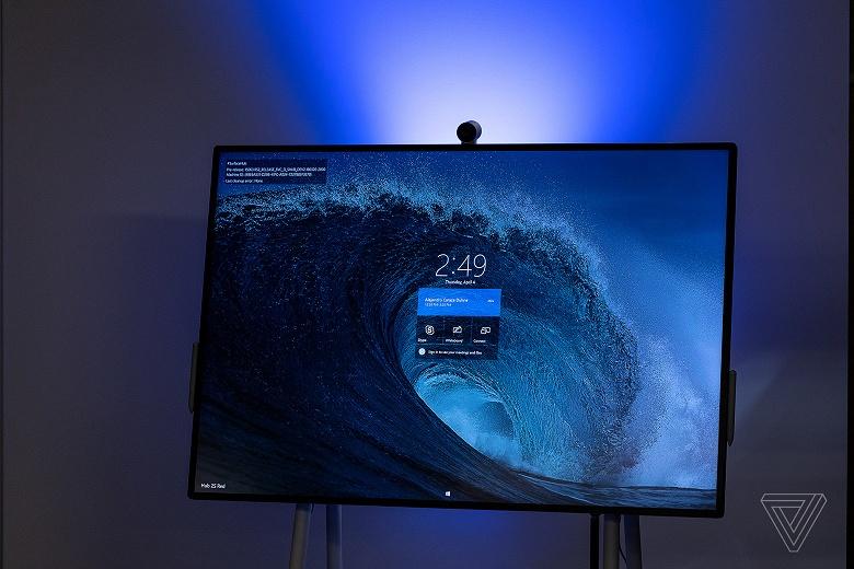 50-дюймовый моноблок Microsoft Surface Hub 2S поступает в продажу по цене 9000 долларов