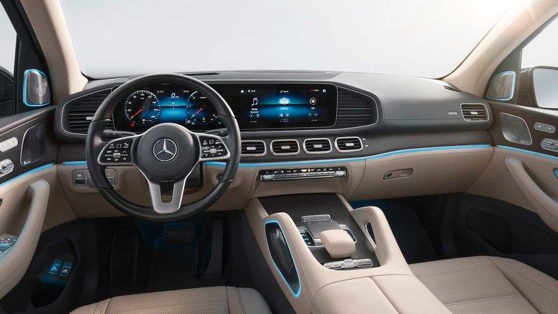 Mercedes-Benz показал флагманский кроссовер