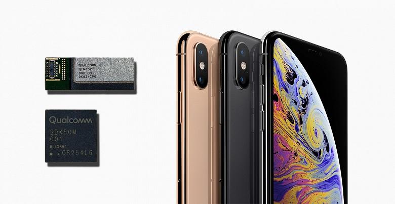 Qualcomm останется единственным поставщиком модемов 5G для Apple ещё минимум 5 лет