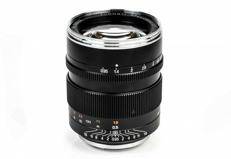 Полнокадровый объектив Mitakon Speedmaster 50mm f/0.95 III оказался дешевле, чем ожидалось