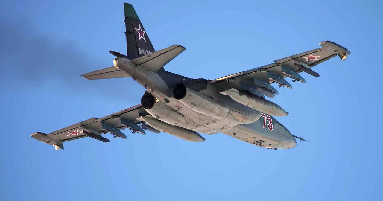 Су-25СМ отстрелялся над Челябинском: видео