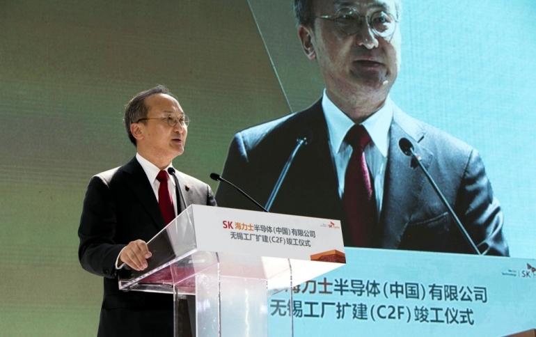 В Китае заработала новая фабрика SK Hynix, выпускающая микросхемы памяти DRAM