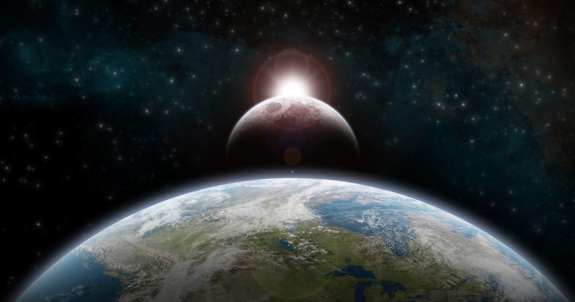 Как формировалась Луна