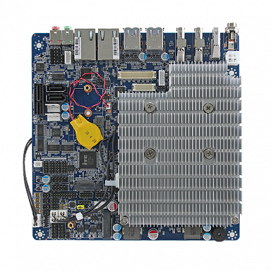 Плата Avalue EMX-KBLU2P типоразмера Thin Mini-ITX предназначена для встраиваемых систем