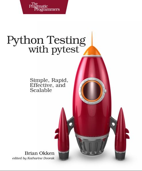 Python Testing с pytest. Начало работы с pytest, Глава 1 - 3