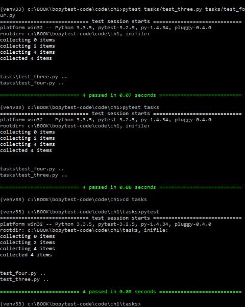 Python Testing с pytest. Начало работы с pytest, Глава 1 - 9