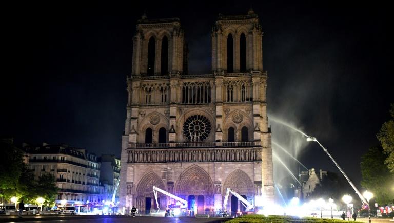 Дроны и роботы, помогавшие спасать парижский собор Нотр-Дам - 1