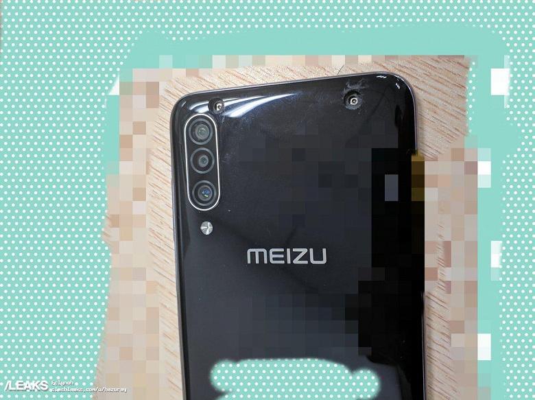 Без выреза экрана и с тройной камерой: опубликованы живые фото флагманского смартфона Meizu 16T