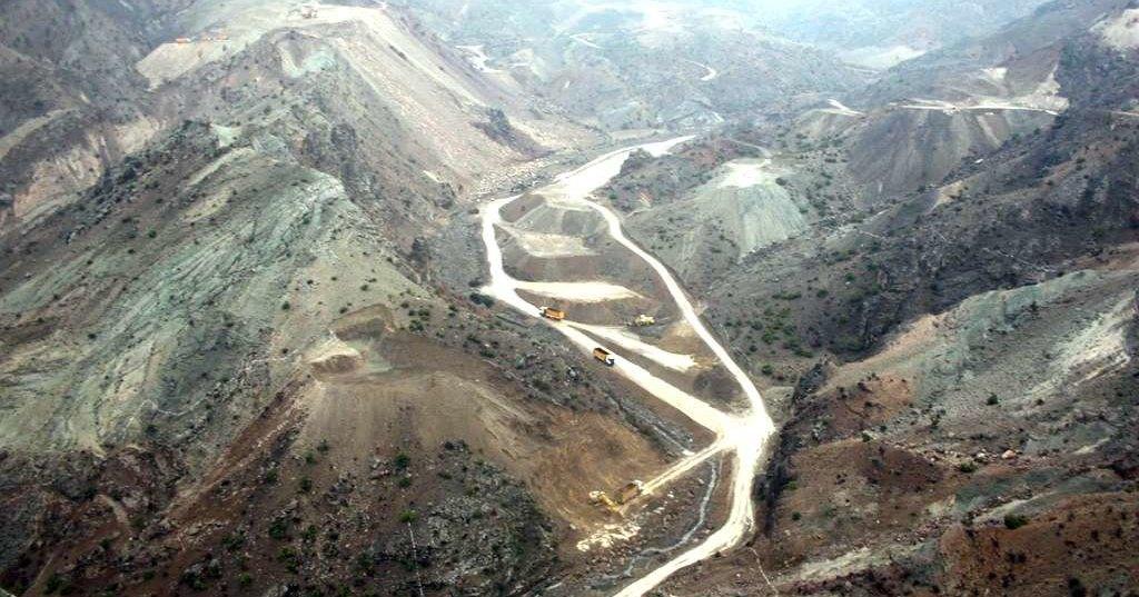 Как строятся высотные плотины