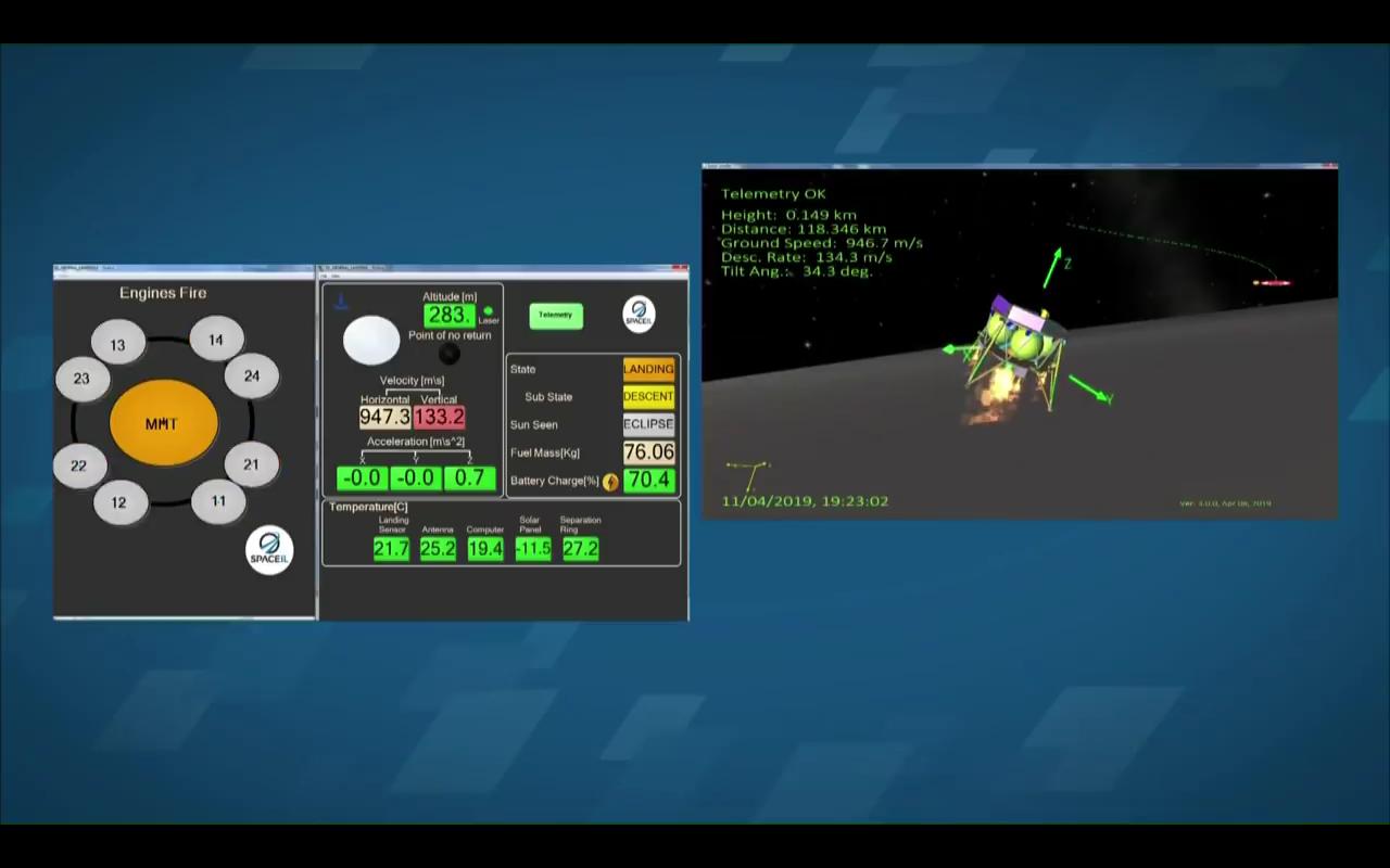 Лунная миссия «Берешит» — начаты поиски первой лунной библиотеки после аварии ее носителя - 34