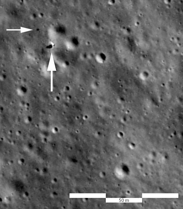 Лунная миссия «Берешит» — начаты поиски первой лунной библиотеки после аварии ее носителя - 38