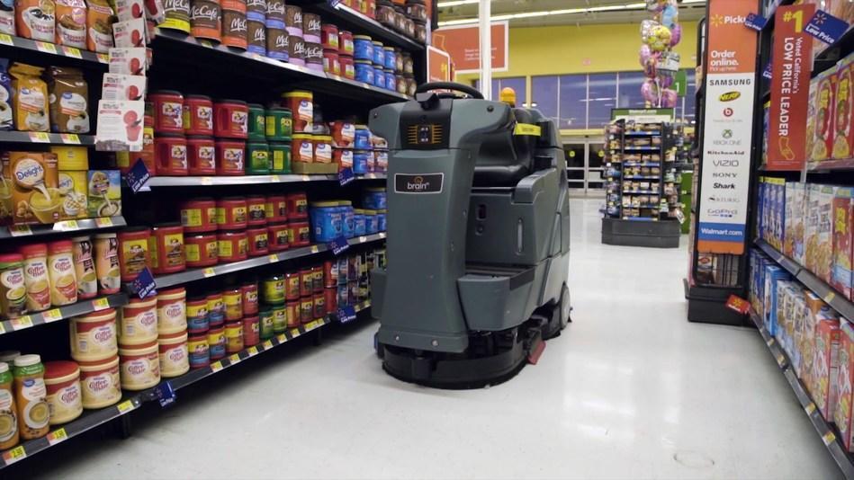 Walmart вводит в работу тысячи роботов-сортировщиков и роботов-уборщиков - 1