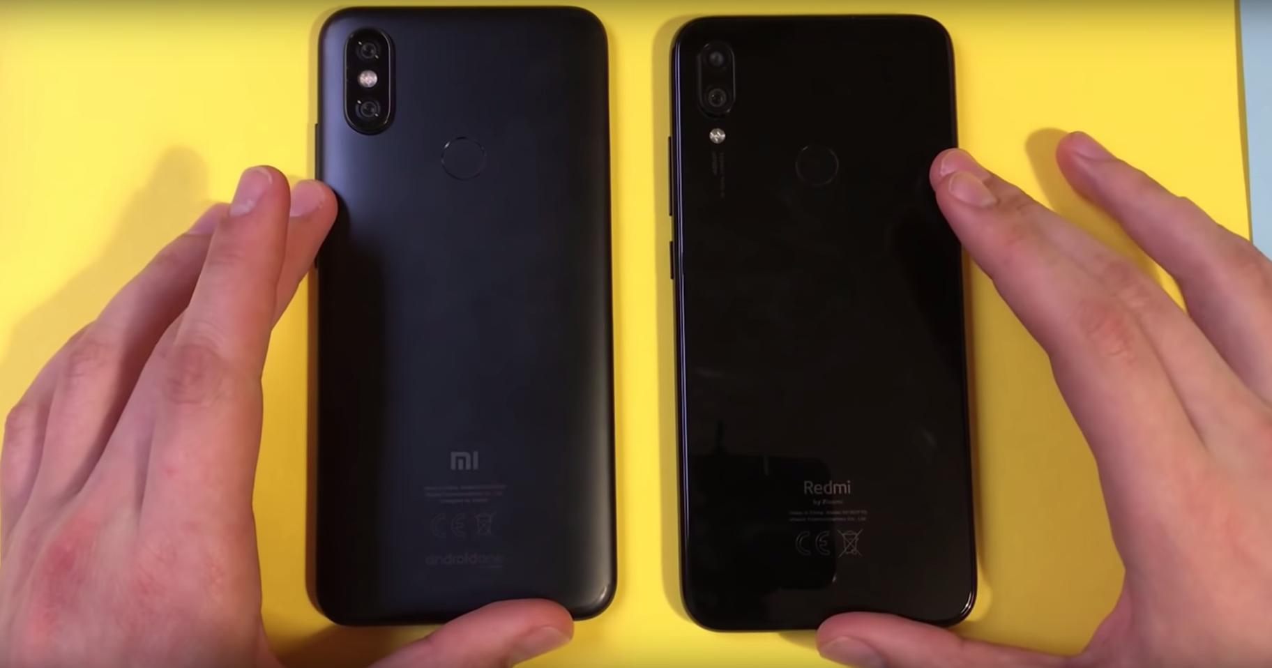 Xiaomi Mi A2 против Redmi Note 7: кто быстрее?