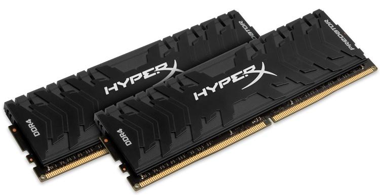 Новые комплекты памяти HyperX Predator DDR4 работают на частоте до 4600 МГц