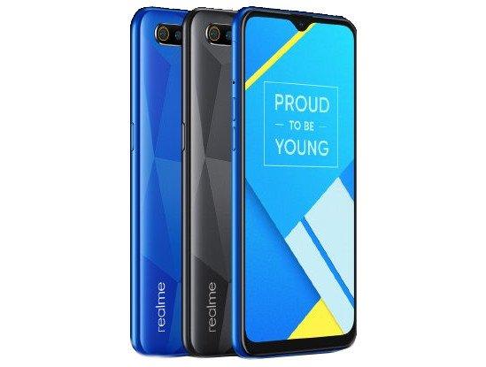 Представлен Realme C2 — бюджетный смартфон с отличной автономностью и выделяющимся дизайном