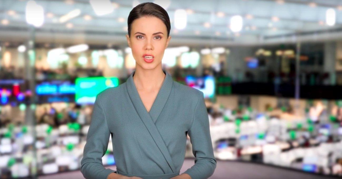 «Сбербанк» показал виртуальную телеведущую